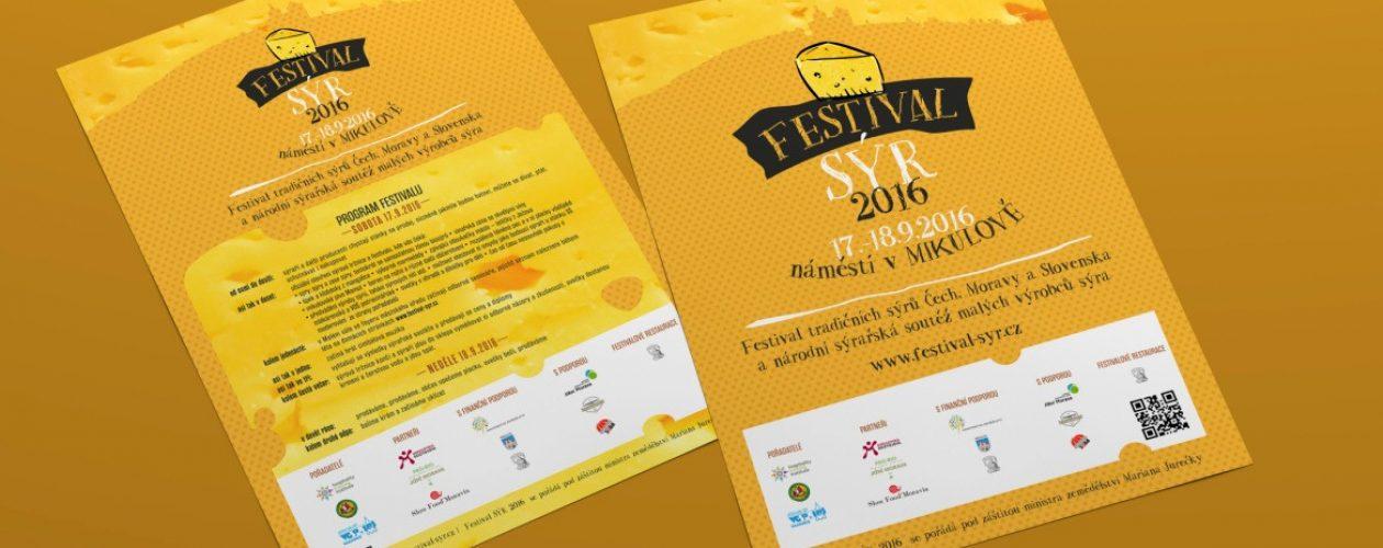 Na 17. – 18. září se chystá v Mikulově parádní akce Festival Sýr